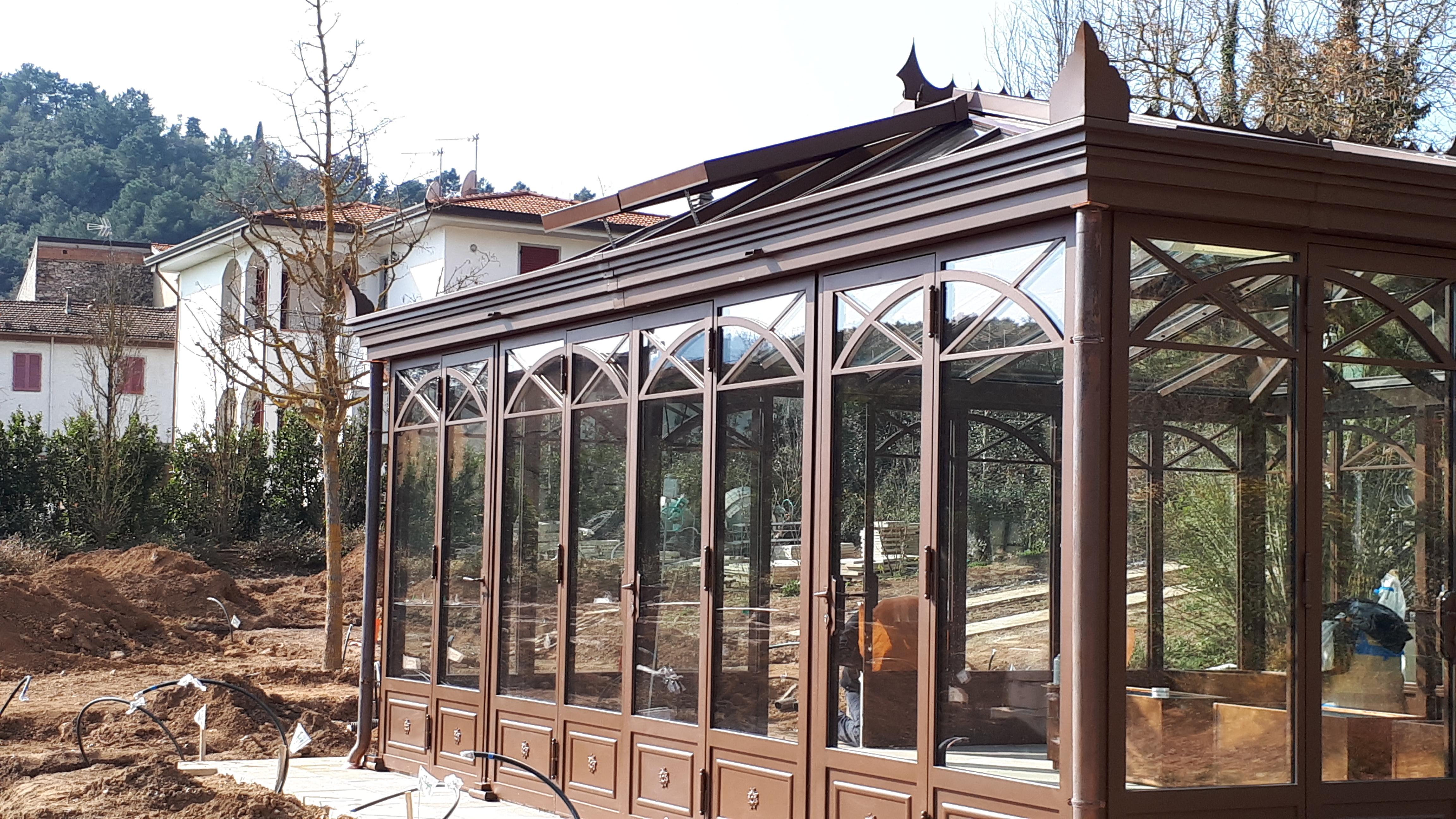Giardino D Inverno In Vetro arte ferro srl - serramenti, infissi, arredamenti e
